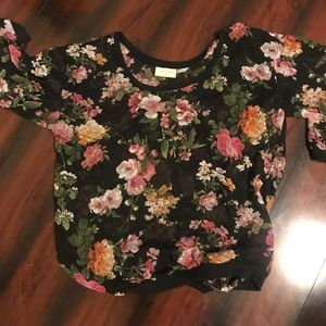 Adorable Floral Top